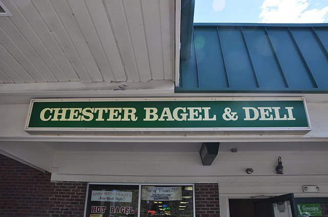 Chesters Bagels Sign